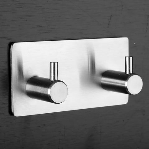 China-top Silver 304 Stainless Steel Coat Hooks Towel Hooks