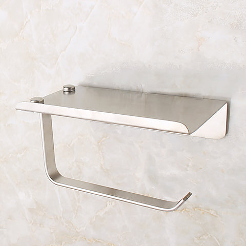 China-top Silver 304 Stainless Steel Toilet Paper Holder AK15