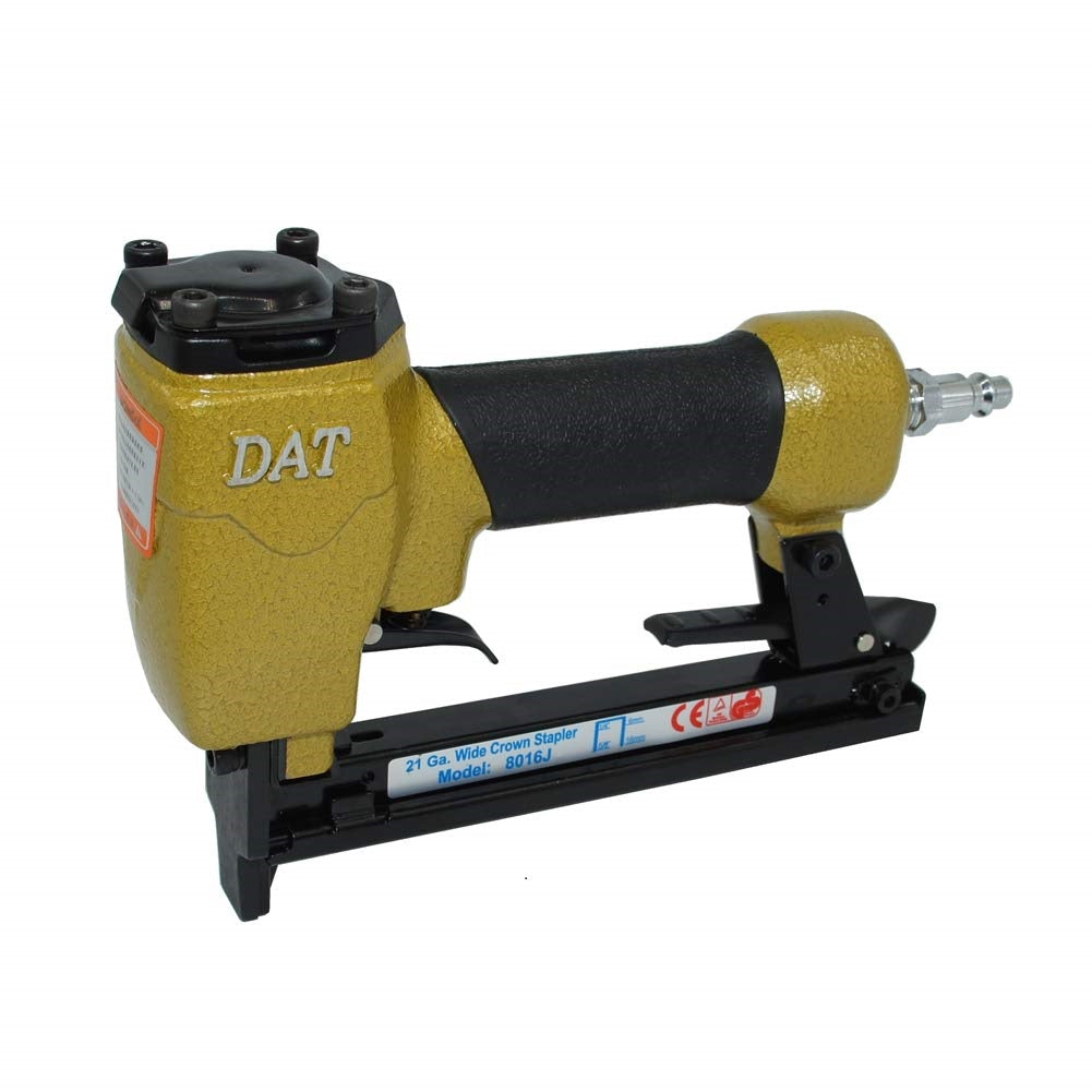 DAT 8016J Upholstery Stapler--21 Gauge 1/4-Inch to 5/8-Inch 1/2'' Crown Fine Wire Stapler