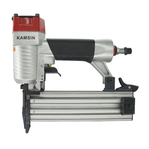 Kamsin F50 Brad Nailer--18 Gauge 3/8-Inch to 2-Inch Power Brad Nailer Gun Air Finish Nailer Pneumatic Nail Guns
