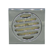 Load image into Gallery viewer, Square Shower Floor Drain 304SS Heavy 4 inch bathroom