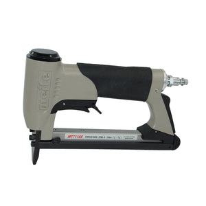 meite MT7116S upholstery stapler - 22 gauge 71 series 3/8-inch crown 1/4-inch to 5/8-inch leg length fine wire stapler furniture stapler with safety