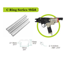 Load image into Gallery viewer, closure tool c ring gun 15 gauge hog ring tool 3/4'' c ring tool tools for mattress