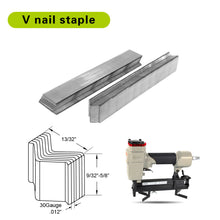 Load image into Gallery viewer, v nails 10mm picutre frame nails v nailer nails picture frame pins