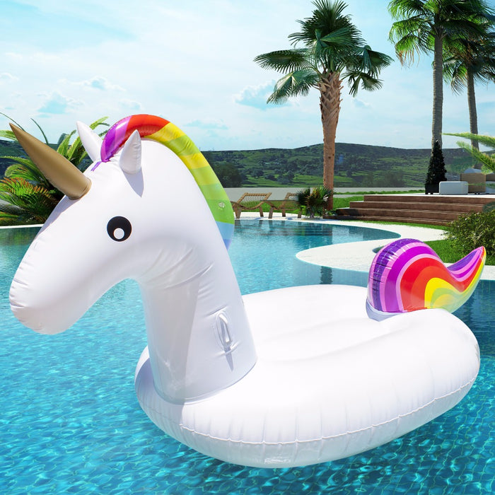 Unicorn Inflatable Floaty
