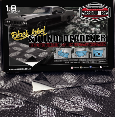 7.2 sq/m (80 sq/ft) Sound Deadener DEAL 4