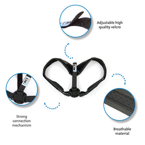 Posture Corrector Adjustable (28″- 48″) & Clavicle Brace for Men and Women
