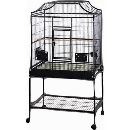Elegant Style Flight Bird Cage With Stand  [32x21x61 In]
