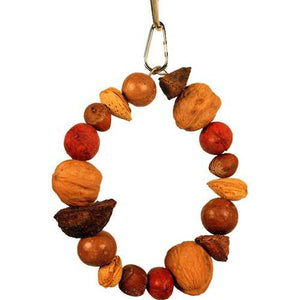 Happy Beaks Mixed Nut Ring Toy