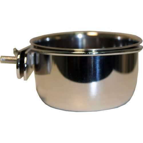 Stainless Steel Coop Cup With Bolt Hanger