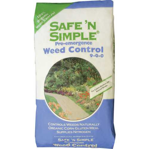 Safe 'n Simple Pre-emergence Weed Control 9-0-0