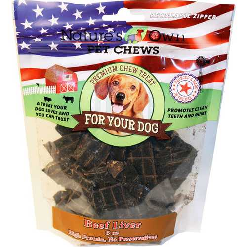 Usa Beef Liver Treats Natural Chew Treats