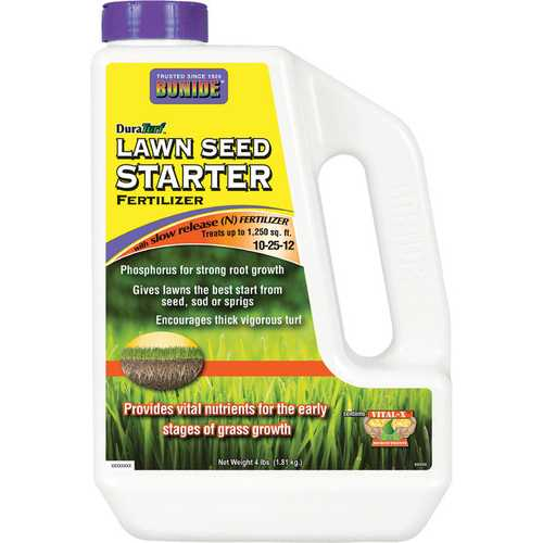 Lawn Seed Starter Shaker Container [4 Pound]