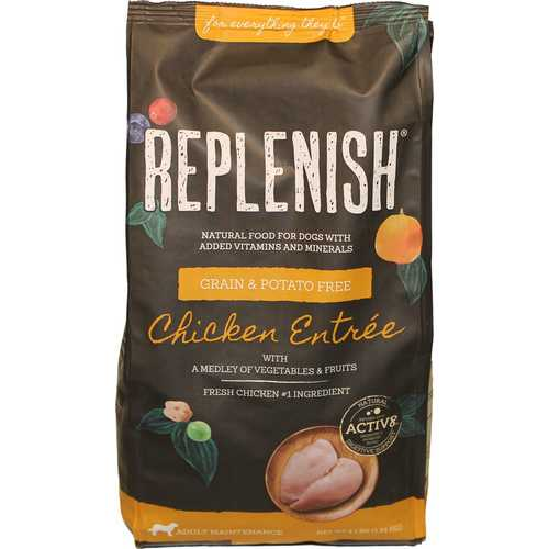 Replenish K9 Dog Food With Active 8 [24 lb]