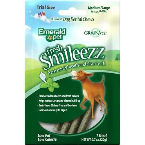 Fresh Smileezz Dog Grain Free Dental Trial Size