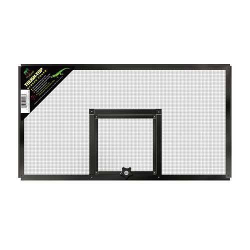 Fresh Air Screen Cover With Hinged Door [20x10 Inch]