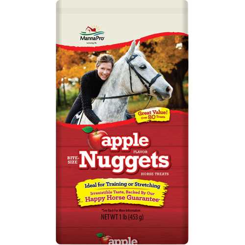 Bite-size Apple Flavored Nuggets Horse Treats