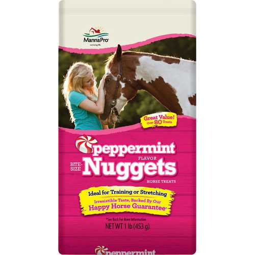 Bite-size Peppermint Flavored Nuggets Horse Treats (1 lb)