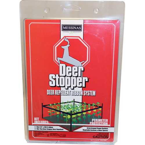 Deer Stopper Barrier Ribbon System
