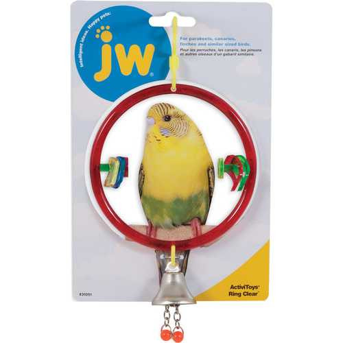 Activitoys Ring Clear Bird Toy