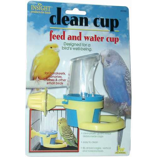 Jw Clean Cup Feed And Water Cup