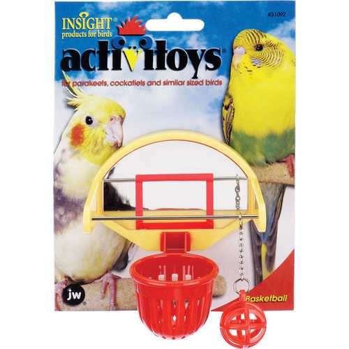 Activitoys Birdie Basketball Bird Toy