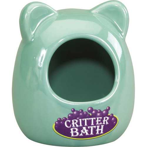 Ceramic Bath House For Critters