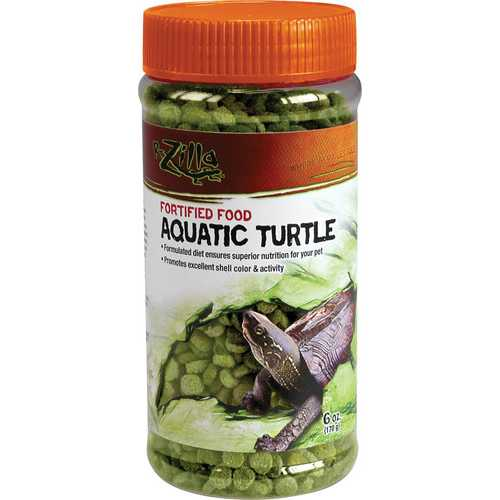 Fortified Aquatic Turtle Food