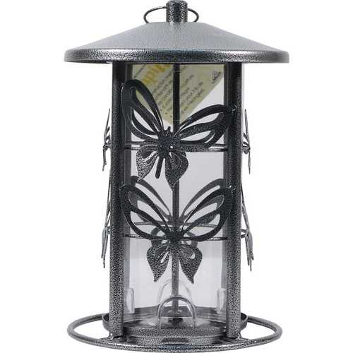 Butterfly Bird Feeder  [3 lb seed capacity]