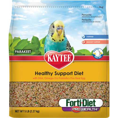 Forti-diet Pro-health Egg-cite Parakeet Food [5 Pound]