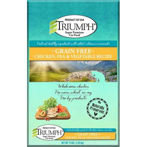 riumph Grain Free Recipe Cat Food [11 Lb]