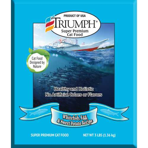 Triumph Cat Food  [3 Lb]