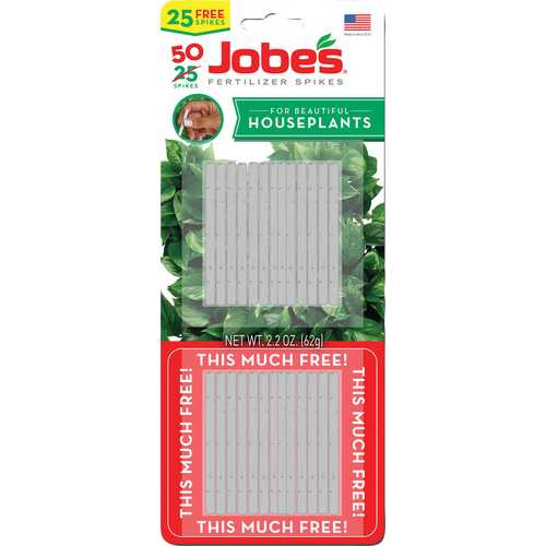Jobes Houseplant Spikes Twin Pack
