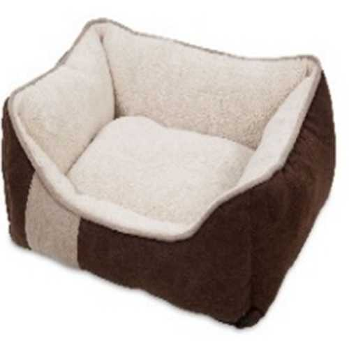 Classic Lounger Microluxe Plush/suede  [24x20x8.5 In]
