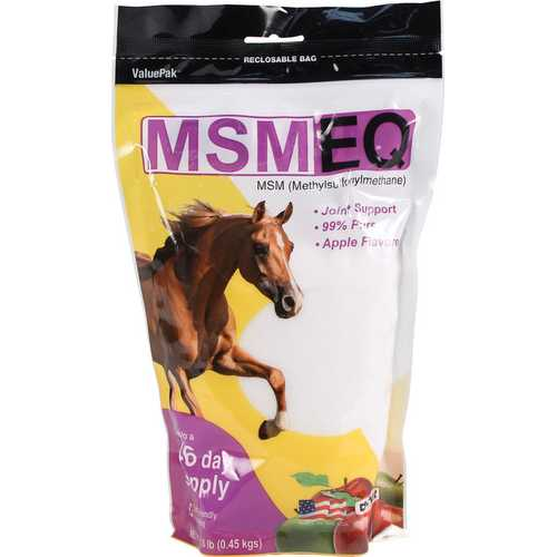Msm Eq For Equine Joint Support (Apple Flavor)