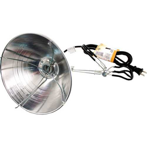 Brooder Light With Clamp  [6 Ft]
