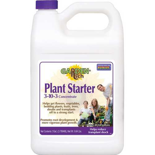 Plant Starter Solution 3-10-3 Concentrate