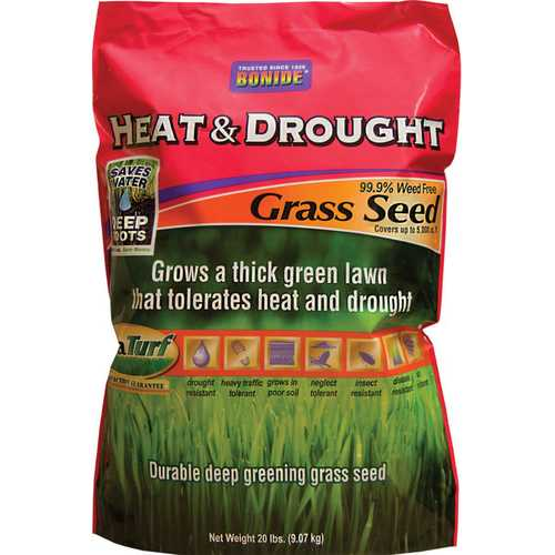 Heat & Drought Grass Seed [20 Lb.]