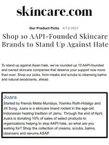 SKINCARE : Shop 10 AAPI-Founded Skincare Brands to Stand Up Against Hate