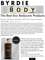 BYRDIE : The Best Eco Bodycare Products