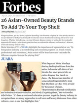 FORBES: 26 Asian-Owned Beauty Brands To Add To Your Top Shelf