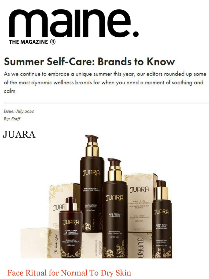 THE MAINE: Summer Self-Care A-Z: Brands to Know