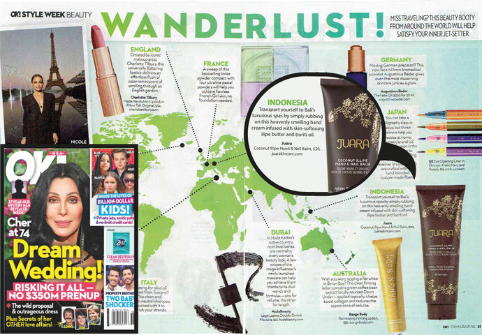 JUARA IN OK! MAGAZINE : Style Week Beauty