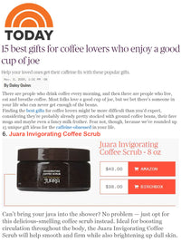 TODAY : 15 Best gifts for coffee lovers who enjoy a good cup of joe