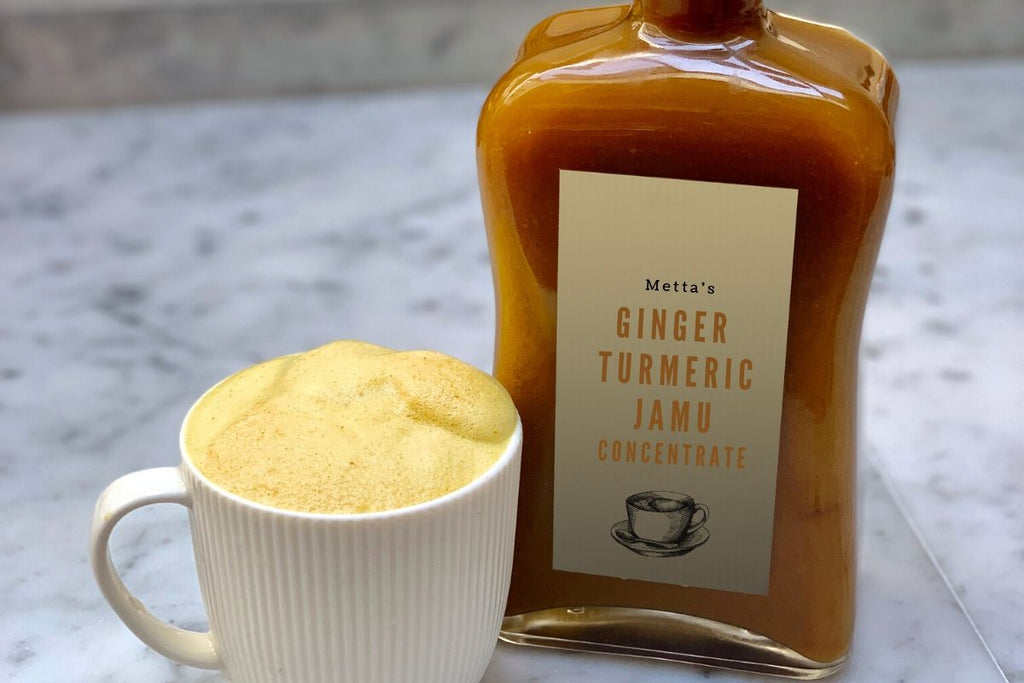 Metta's Ginger Turmeric Jamu Concentrate