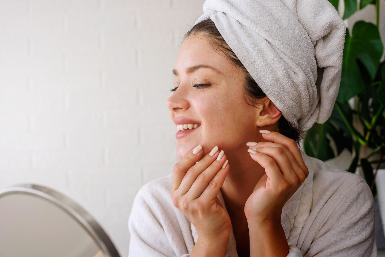 Exfoliation is an important part of minimizing your pores and keeping them clean