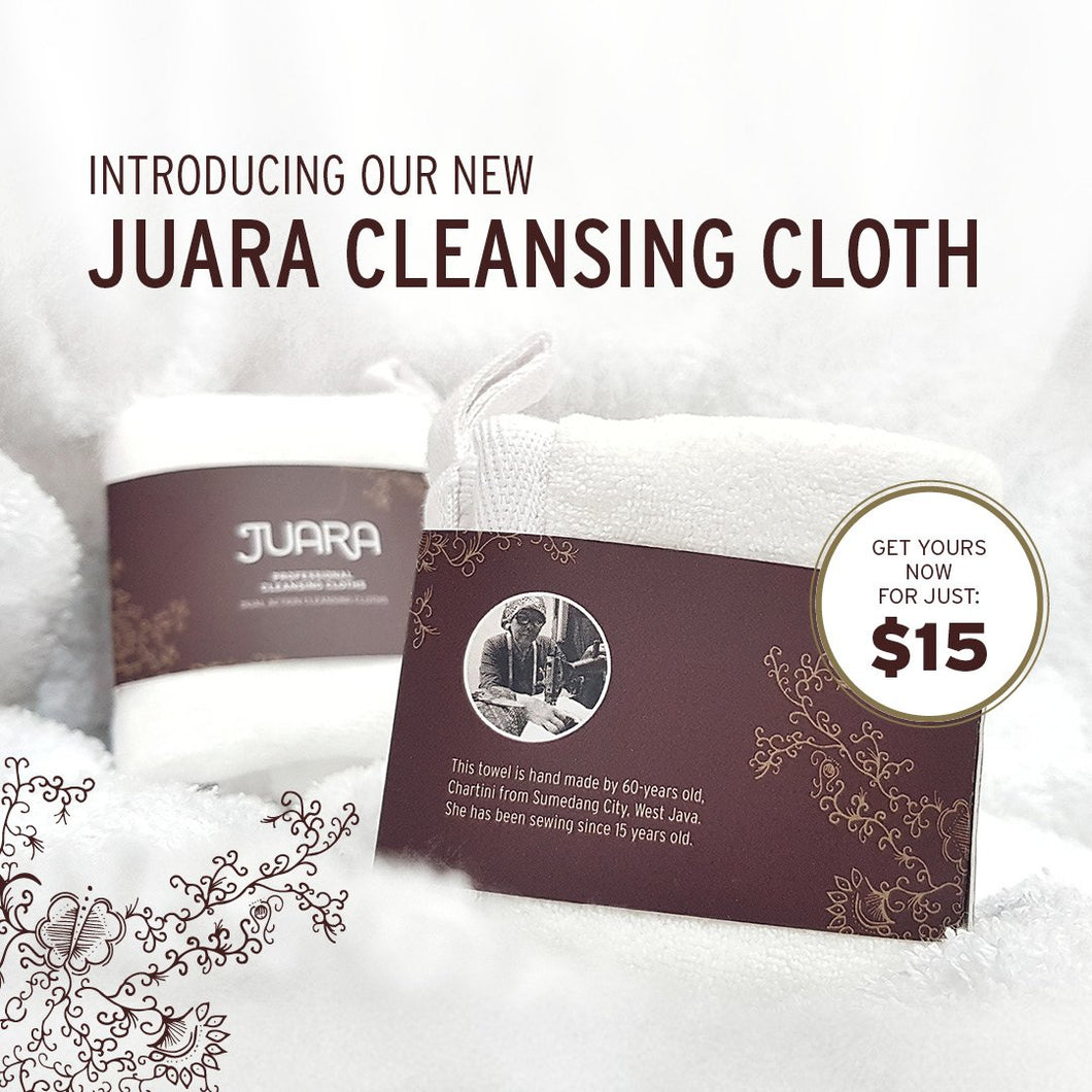 JUARA Cleansing Cloth