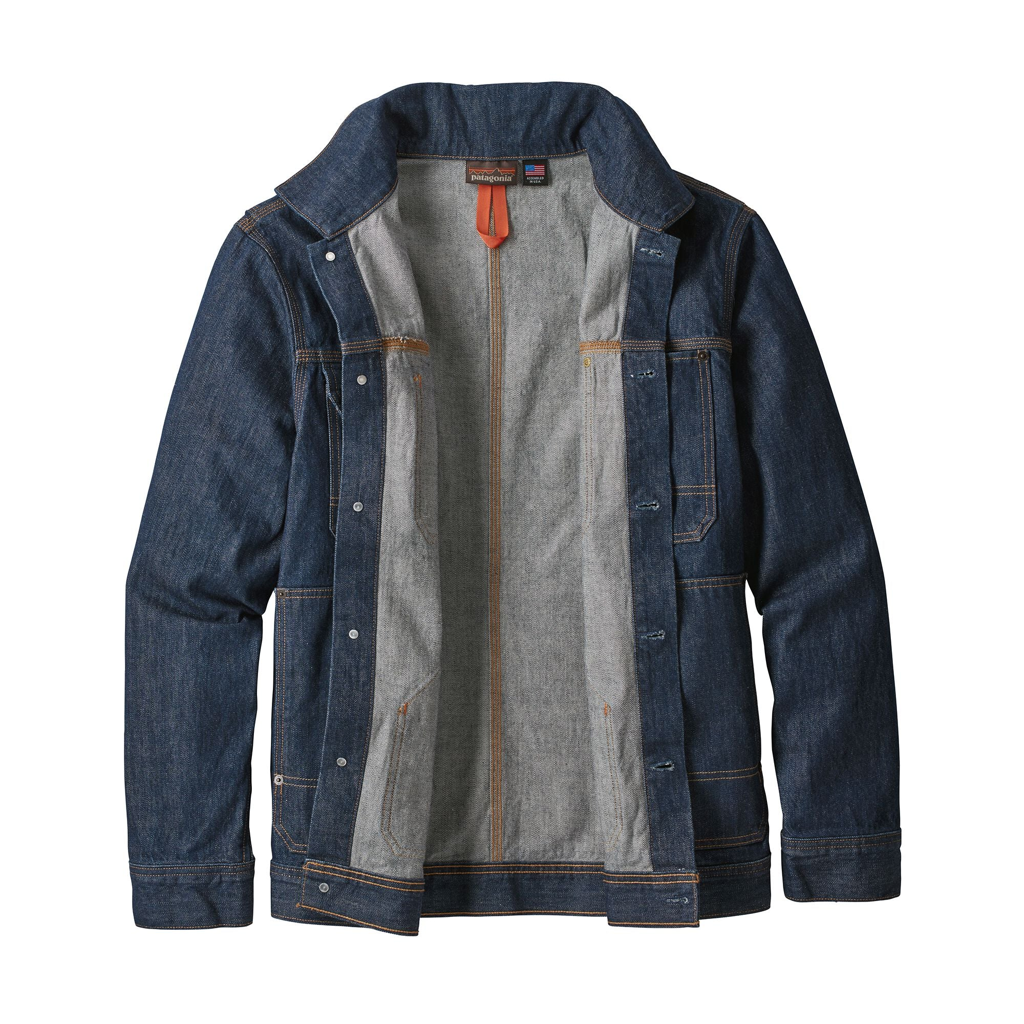 Chaqueta Hombre Steel Forge Denim Jacket Azul Patagonia