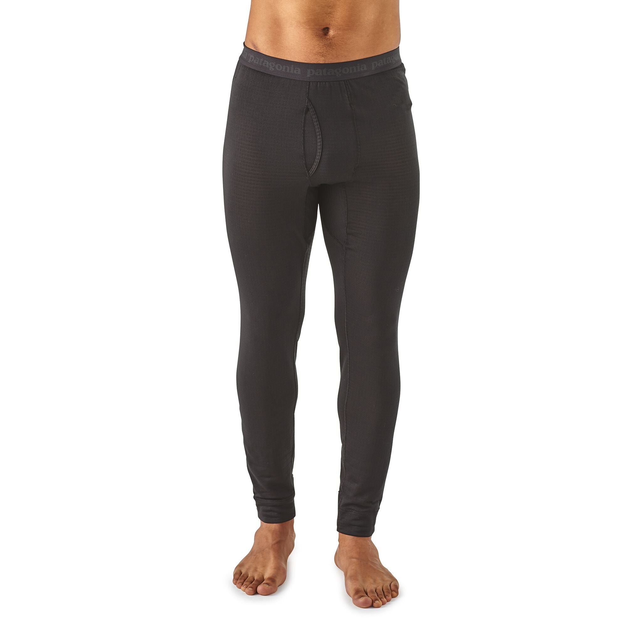 Primera Capa Pantalón Hombre Capilene® Thermal Weight Bottoms Negro Patagonia