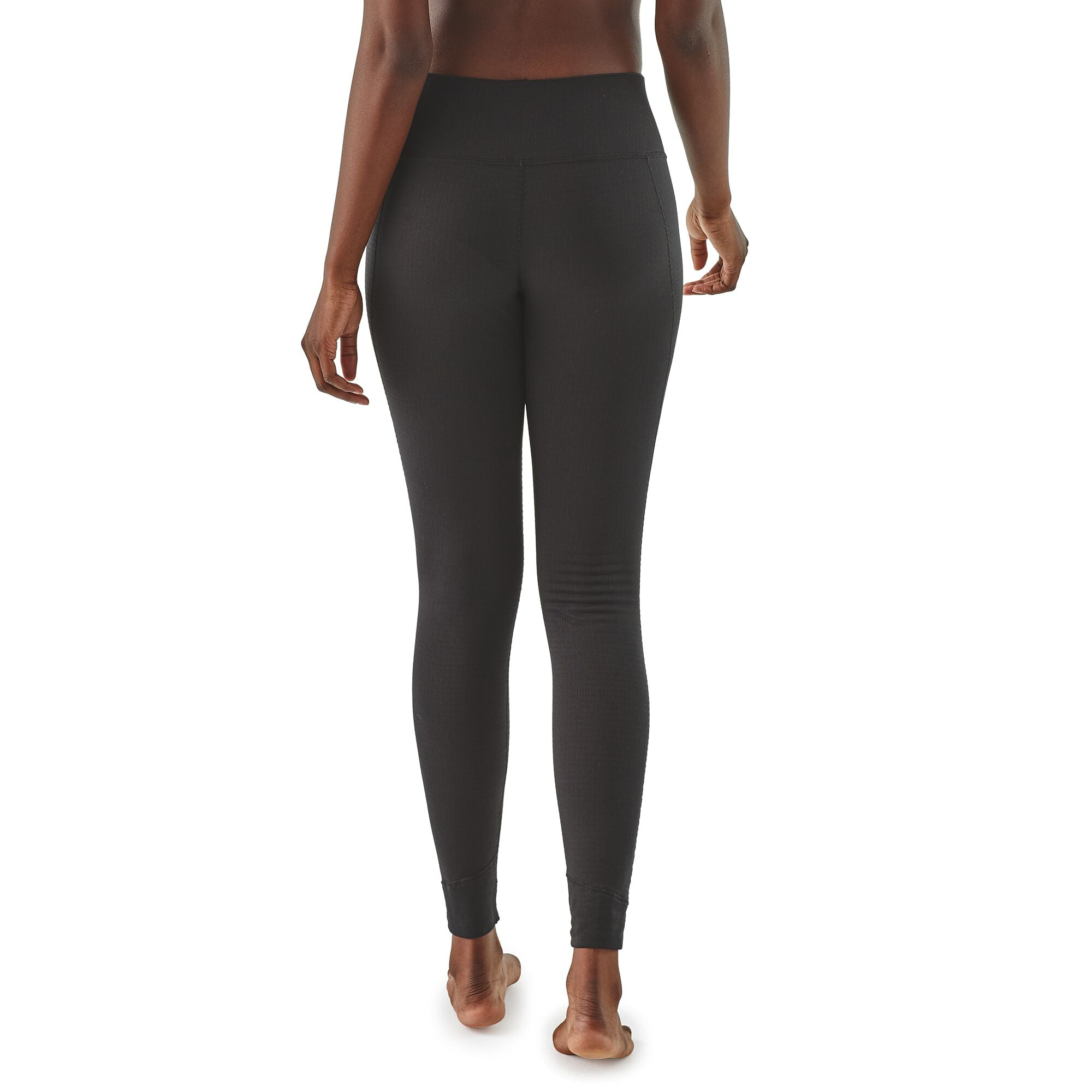 Calzas Mujer Capilene® Thermal Weight Bottoms Negro Patagonia